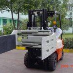 Ķīna hidrauliski efektīvu iekrāvēju papildaprīkojumi daudzfunkcionāls skava