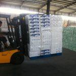 Mehāniskais rūpniecības dakšas pacēlāja stiprinājuma hidrauliskās kravas stabilizators