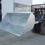 Pārdošanā DB-H Forklift Bucket Attachment
