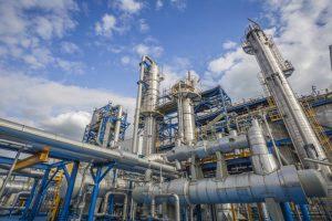 Naftas ķīmijas rūpniecība